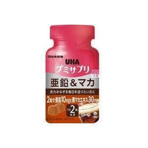 UHA味覚糖 UHAグミサプリ 亜鉛&マカ(ボトルタイプ) ...