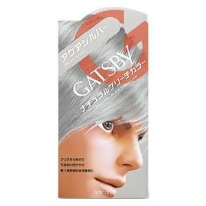 (GATSBY) マンダム ギャツビー ナチュラルブリーチカラー アクアシルバー(メンズヘアカラー)(医薬部外品)|champion-drug