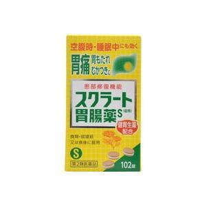 スクラート胃腸薬S 錠剤 102錠(第2類医薬品)|champion-drug