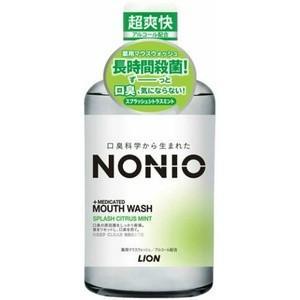 【LION】 【NONIO】 ノニオ マウスウォッシュ スプラッシュシトラスミント  600ml|champion-drug