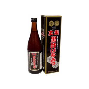 玄米黒酢はちみつ 720mLx12本 champion-drug