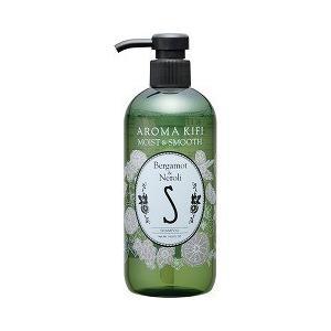 AROMAKIFI (アロマキフィ) モイスト&スムース シャンプー 500ml ベルガモット&ネロリの香り|champion-drug