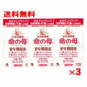 (送料無料)小林製薬 命の母A 840錠 3個パック(第2類医薬品)(命の母 840錠)
