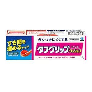 小林製薬 タフグリップ ピンク 40g(義歯用品)(クッション剤)(入れ歯用品)|champion-drug