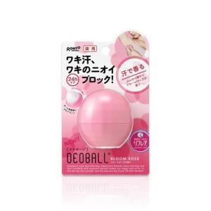 ロート製薬 リフレア薬用デオボール ブルームローズの香り(ピンク)|champion-drug