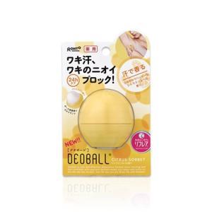ロート製薬 リフレア薬用デオボール シトラスソルベの香り(黄)|champion-drug