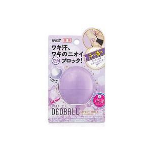 ロート製薬 リフレア薬用デオボール スイートムスクの香り(紫)|champion-drug