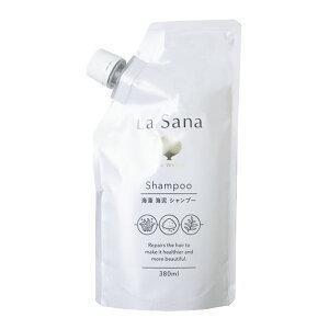 ラサーナ 海藻海泥シャンプー 詰替え用 380ml|champion-drug