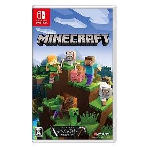 【新品】NSW Minecraft(マインクラフト) Nintendo Switch版【送料無料・メール便発送のみ】(着日指定・代金引換発送は出来ません。)|champnet758
