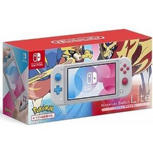 【新品】Nintendo Switch Lite ザシアン・ザマゼンタ 『ポケモン ソード・シールド...