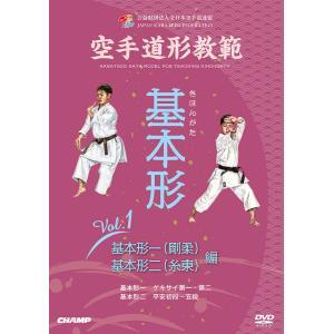 空手道形教範 基本形 Vol.1  基本形一(剛柔)・基本形ニ(糸東) 編 (DVD)|champonline