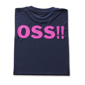 OSS!! クラシック Tシャツ 紺ピンク  (紺)【受注生産商品】|champonline