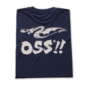 OSS!! ドラゴン Tシャツ  (紺)【受注生産商品】|champonline