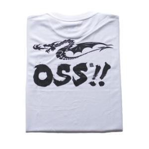 OSS!! ドラゴン Tシャツ  (白)【受注生産商品】|champonline
