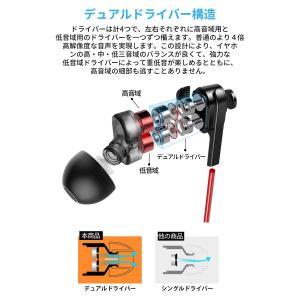 2019進化版 Bluetooth5.0 16時間連続再生 Bluetooth イヤホン IPX6防水 スポーツ デュアルドライバー 高音質|chan-gaba