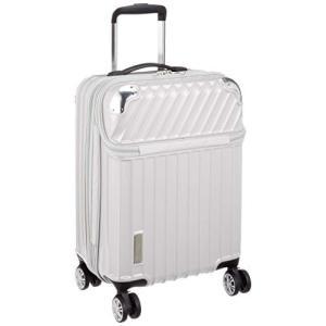 トラベリスト スーツケース ジッパー トップオープン モーメント 機内持ち込み可 35L 54 cm 3.4kg ホワイトカーボン|chan-gaba