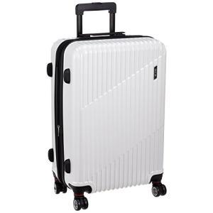 エース スーツケース クレスタ エキスパンド機能付 06317 70L 61cm 4.3kg 06317 06 ホワイトカーボン|chan-gaba