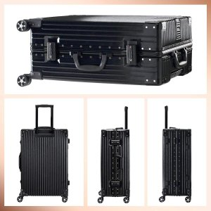 TABITORA(タビトラ) スーツケース 大型 人気 キャリーバッグ TSAロック搭載 旅行用品 出張 超軽量 大容量 静音 8輪 アルミ|chan-gaba
