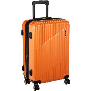 エース スーツケース クレスタ エキスパンド機能付 70L 61 cm 4.3kg オレンジ|chan-gaba