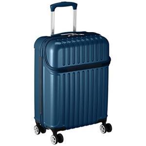 アクタス スーツケース ジッパー トップオープン トップス 機内持ち込み 74-20310 33L 53.5 cm 3.2kg ブルーカーボ|chan-gaba