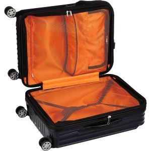 トラベリスト スーツケース ジッパー トップオープン モーメント 拡張機能付き 61L 64 cm 4.3kg ネイビーカーボン|chan-gaba
