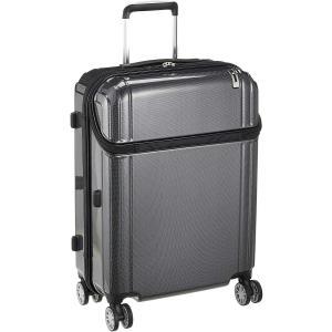 トラベリスト スーツケース ジッパー トップオープン 無料預入 76-30490 54L 62 cm 3.9kg ブラックカーボン|chan-gaba
