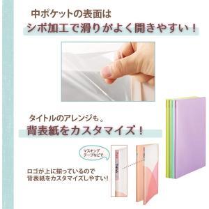 プラス ファイル クリアファイル A4縦 20ポケット Pasty petit フルーツスカッシュ 4色組|chan-gaba