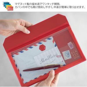 キングジム バッグインバッグ FLATTY A4 赤 5366アカ|chan-gaba