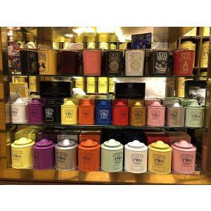 シンガポールの高級紅茶TWGオートクチュール 1837 BLACK TEA / 1837 紅茶 - 80gr - (オレンジ) 並行輸入品|chan-gaba