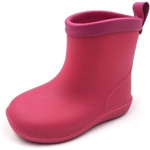 アモジ キッズ レインシューズ レインブーツ 雨靴 長靴 ベビー ガールズ ジュニア 女の子 子供 ...