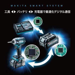 マキタ インパクトドライバ40VmaxTD001青 トルク220Nm バッテリ等別売 TD001GZ|chan-gaba