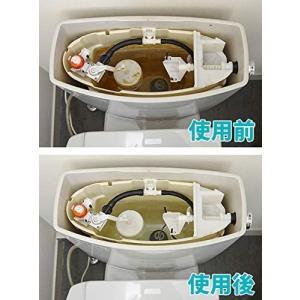 日本製 トイレタンク 汚れ 洗浄剤 4回分 トイレタンク用 洗剤|chan-gaba