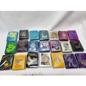 ランダムポケモンカードゲーム)デッキシールド(65個セット)海外限定並行輸入品 chan-gaba