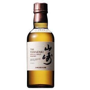 サントリー シングルモルト 山崎 ウイスキー 日本 180ml|chan-gaba