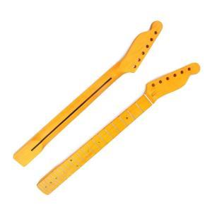 ネック 22フレット メイプル指板 フェンダーテレキャスタータイプ交換 ギター