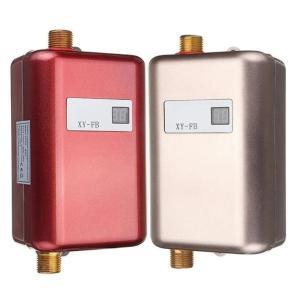 給湯設備 小型コンパクトサイズ 壁掛け式電気給湯器 洗面台所 キッチン 瞬間式温水器 タンクレス 3...