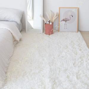 カーペット ラグマット フランネルラグ 5畳6畳7畳 長方形 洗える シャギーラグ 絨毯 滑り止め ...