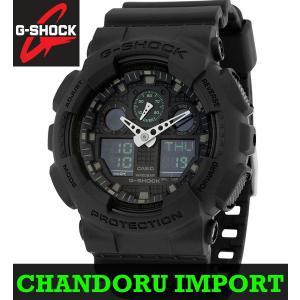 G-SHOCK CASIO 時計 GA100MB-1A  腕時計 Gショック ジーショック アナデジ
