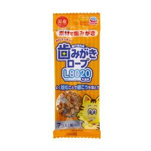 食べられる歯みがきロープ 愛猫用 鯛風味 0.8g×7個 猫 猫用歯磨き 歯みがき 10袋入り 関東当日便|chanet