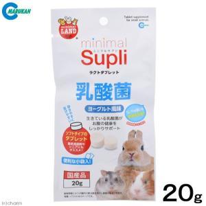 マルカン ミニマルサプリ ラクトタブレット 乳酸菌 ヨーグルト風味 20g 関東当日便|chanet