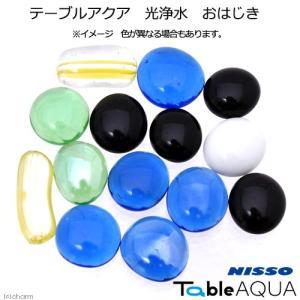 ニッソー テーブルアクア 光浄水 おはじき 水槽用オブジェ アクアリウム用品 関東当日便