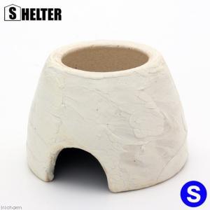 白信楽ウェットシェルター S 爬虫類 両生類