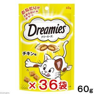 ドリーミーズ チキン味 60g 36袋入 関東当日便|chanet