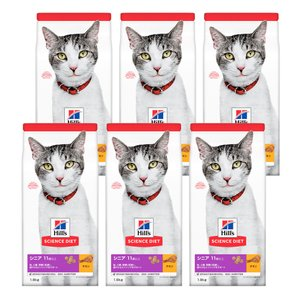 サイエンスダイエット シニアプラス チキン 高齢猫用 1.8kg(600g×3袋) キャットフード ...