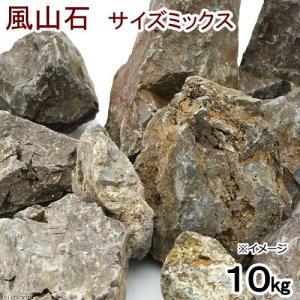 形状お任せ 風山石 サイズミックス(約5〜20cm) 10kg 関東当日便|chanet