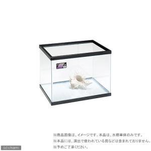 同梱不可・中型便手数料 ニッソー スタンダード60cm水槽 NS−7M(ブラック)60×45×45c...