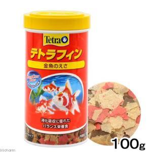テトラフィン 100g 金魚のえさ 関東当日便 chanet