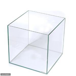 メーカー:コトブキ 品番:▼▲ キュートな正立方体のフレームレス水槽です。ガラスブタを乗せるコーナー...