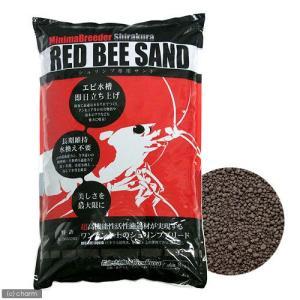 シラクラ RED BEE SAND(レッドビーサンド) 8kg 熱帯魚 用品 ソイル お一人様2点限...
