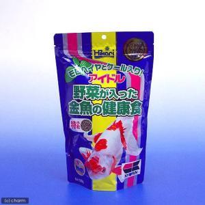 アイドル 野菜が入った金魚の健康食 特小粒 (浮上性) 300g 金魚のえさ 関東当日便